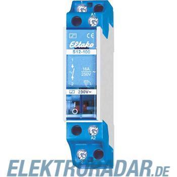 Eltako Stromstoßschalter f.Reihe. S12-200-12V