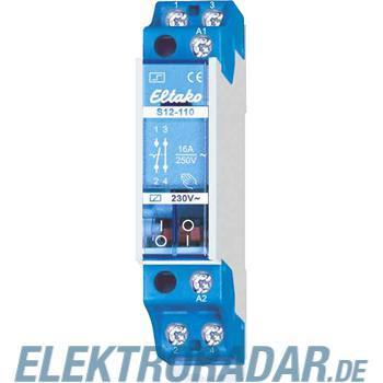 Eltako Stromstoßschalter f.Reihe. S12-110-8V
