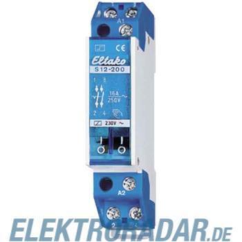 Eltako Stromstoßschalter f.Reihe. S12-200-230V