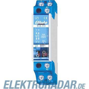 Eltako Stromstoßschalter f.Reihe. S12-110-24VDC
