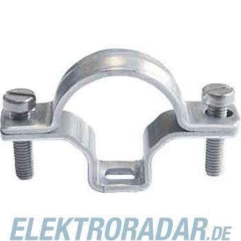 Fränkische Stahlrohr-Bügelschelle VSG-E 40