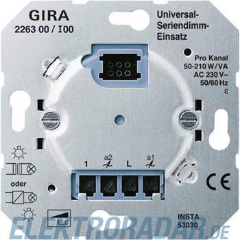 Gira Universal-Seriendimm-Einsa 226300