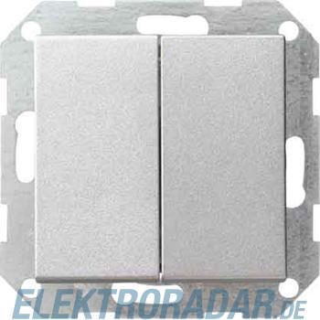 Gira Tast-Serienschalter alu 012526