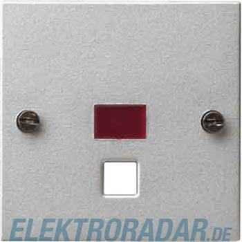 Gira Zentralplatte Zugtast. alu 063826