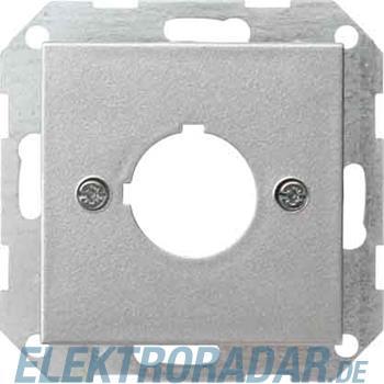 Gira Zentralplatte f.22,5 alu 027226