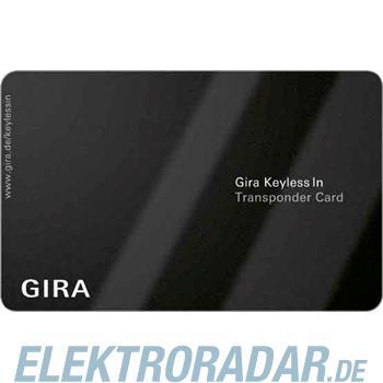 Gira Transponder Card passiv Ke 261100