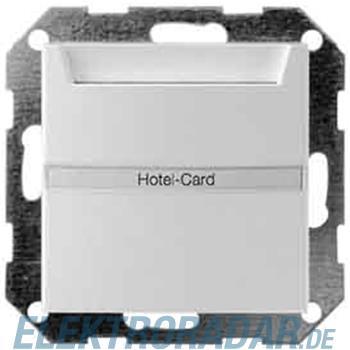 Gira Hotel-Card-Taster alu 014026