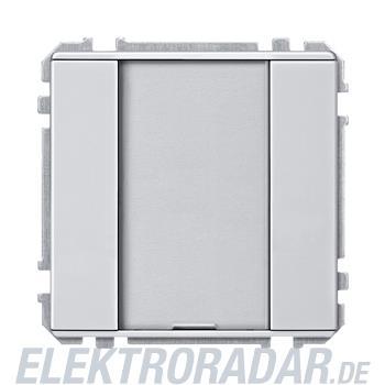 Merten Taster 1f. alu/bril 628060