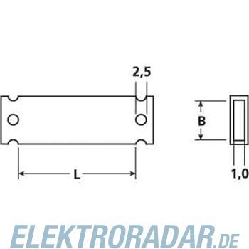 HellermannTyton Zeichenträger HC 09-35-PE-CL(VE50)