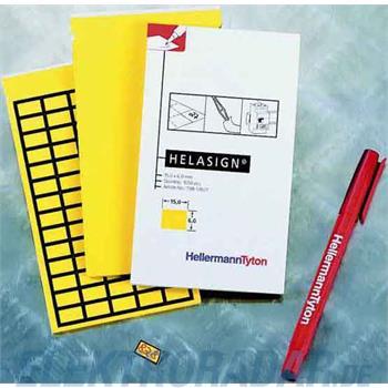 HellermannTyton Etiketten TAG122B-270-YE