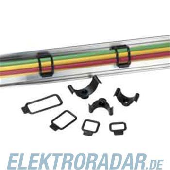 HellermannTyton Befestigungsschelle R2-PVC-BK-D1