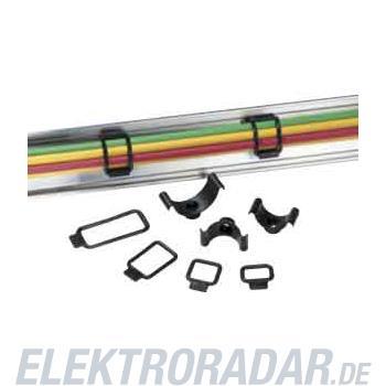HellermannTyton Befestigungsschelle R3-PVC-BK-D1