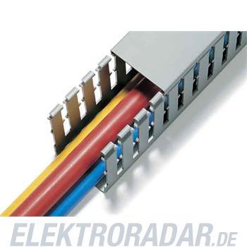 HellermannTyton Verdrahtungskanal T1-F 100x80-PVC-GY