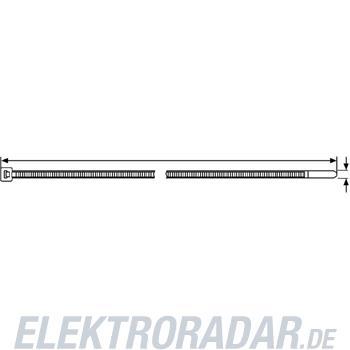 HellermannTyton Kabelbinder T50S-N66-BK-C1