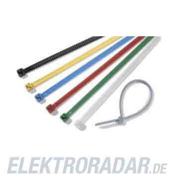 HellermannTyton Kabelbinder LR55R-PA66-BU-Q1