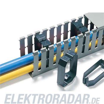 HellermannTyton Drahthalteklammer CL-40x60-PVC-BK