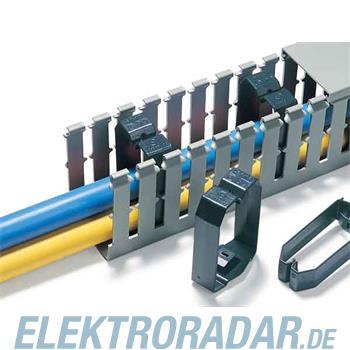 HellermannTyton Drahthalteklammer CL-80x80-PVC-BK