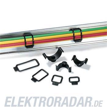 HellermannTyton Befestigungsschelle R1-PVC-BK-D1
