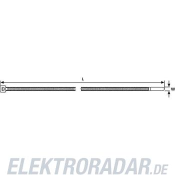 HellermannTyton Kabelbinder T80R-N66-GN-C1