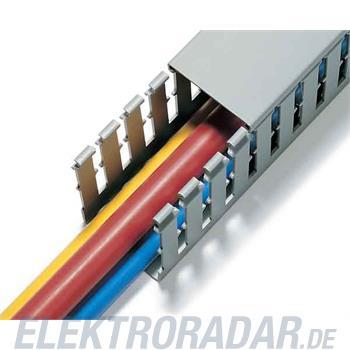 HellermannTyton Verdrahtungskanal T1-40X40-PVC-GY