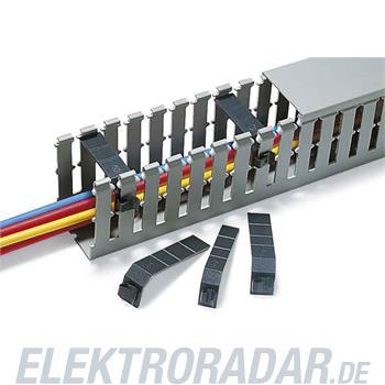 HellermannTyton Drahthalteklammer TR1E-PVC-BK