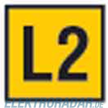 HellermannTyton Etiketten CWMS-L2-260-YE