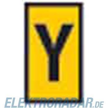 HellermannTyton Kennzeichnungsclip WIC1-Y-PA-YE-T1