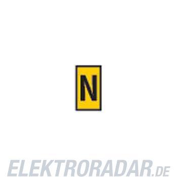 HellermannTyton Kennzeichnungsclip WIC2-N-PA-YE-T1