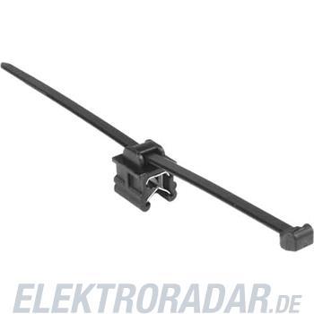 HellermannTyton Befestigungsbinder T50ROSEC9-MC5-BK-D1