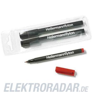 HellermannTyton Markierstift T82R-RD(VE2)