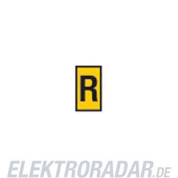 HellermannTyton Kennzeichnungstülle HODS85-R-PVC-YE-M4