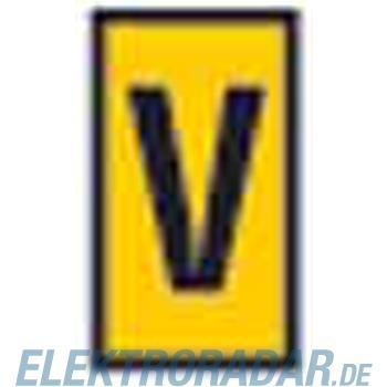 HellermannTyton Kennzeichnungstülle HODS85-V-PVC-YE-M4