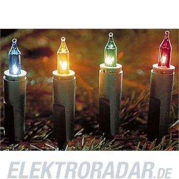 Hellum Glühlampenwer Minikette gn/bunt 839074