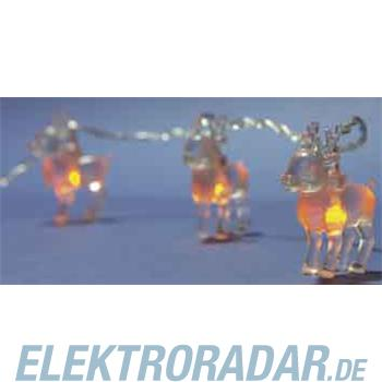 Hellum Glühlampenwer LED-Rentierlichterkette 560015