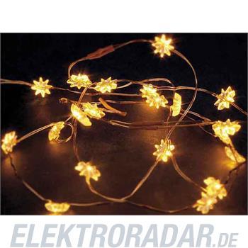 Hellum Glühlampenwer LED-Lichterkette mit Stern 570830
