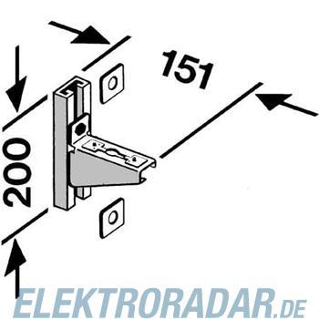Hensel Wandkonsole KT WK 10