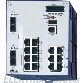 Hirschmann INET Ind.Ethernet Switch RS20-1600M2M2SDAP