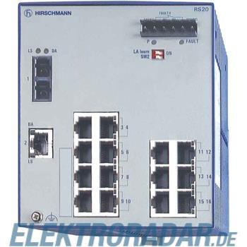 Hirschmann INET Ind.Ethernet Switch RS20-1600S2T1SDAU