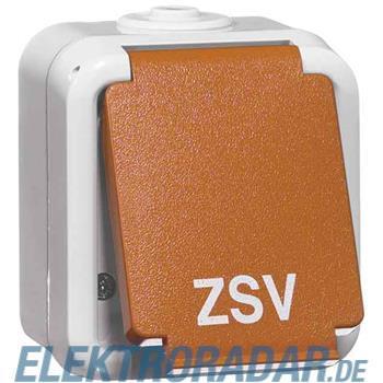Peha SCHUKO-Steckdose 1-fach gr D 6620 WAB OR ZSV