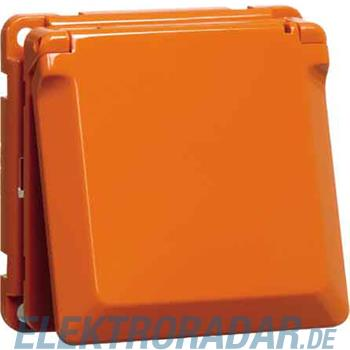 Peha SCHUKO-Steckdose orange D 6711.33 K