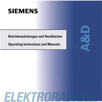 Siemens Betriebsanleitung 7ML1998-5BE02