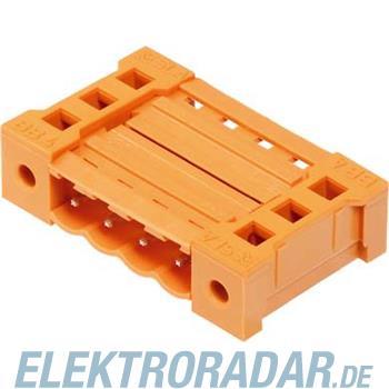 Weidmüller Leiterplattensteckverbinde SL 5.08KU 4 SN OR