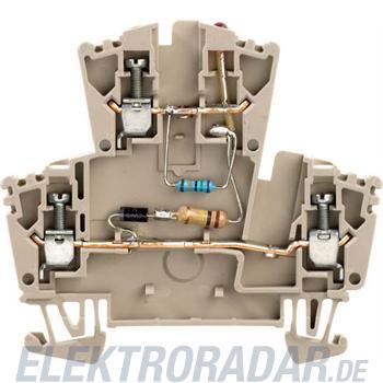 Weidmüller Klemme mit Einbau WDK 2.5 LD1D2R230VAC