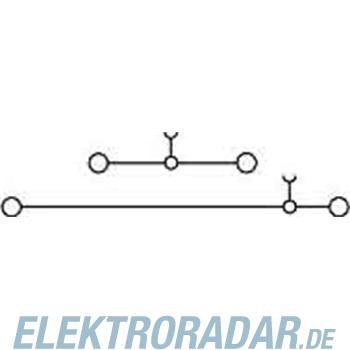 Weidmüller Doppelstock-Reihenklemme WDK 2.5N BL
