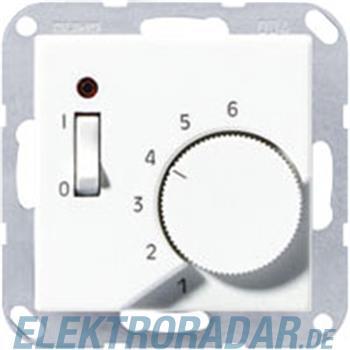 Jung Raumtemperaturregler alu TR A 231 AL