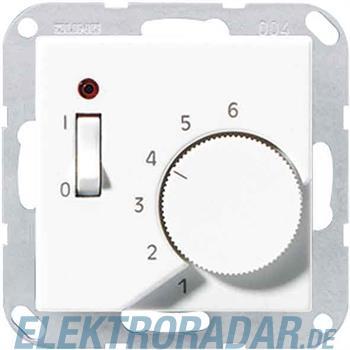 Jung Raumtemperaturregler alu TR A 241 AL