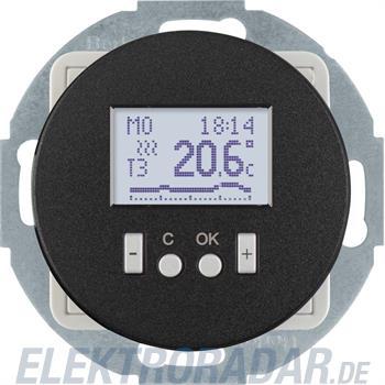 Berker Temperaturregler sw/glänz 20452035