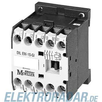 Eaton Leistungsschütz DILEM-10-G-C(24VDC)
