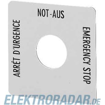 Eaton Not-Aus-Schild SQT1