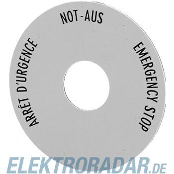 Eaton Not-Aus-Schild SRT1